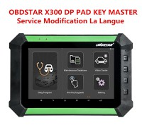 OBDSTAR X300 DP from Standard to Full Configuration Update Service
