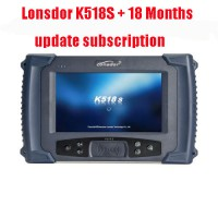 Lonsdor K518S Auto Key Programmer Basic Version plus 18 Months Update Subscription