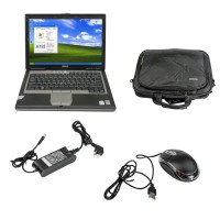 D630 Core2 Duo 1,8GHz, 4GB Memory WIFI, DVDRW Second Hand Laptop Especially for B-MW ICOM Choose SO489
