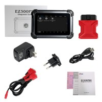 [Réduction de Prix] XTOOL EZ300 Pro With 5 Systems Diagnosis Engine,ABS,SRS,Transmission and TPMS Support Multi-language