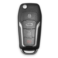 XHORSE XNFO01EN Universal Remote Key 4 Buttons Wireless For Ford (English Version) 5pcs/lot