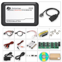 Dernière Version V54 FGTech Galletto 4 Master FW 0475 Auto ECU Chip Tuning Programmer EURO Version Soutenir le Français