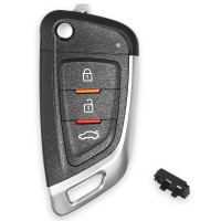 Xhorse XKKF02EN Universal Remote Car Key with 3 Buttons for VVDI Key Tool (English Version) 5 pcs/lot