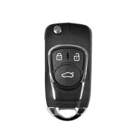 XHORSE XNBU03EN Wireless Universal Remote Key Fob 3 Buttons for VVDI VVDI2 Key Tool(English Version) 5 pcs/lot