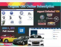 Original GM Online Subsription for One Year Work with GM MDI/GM Tech2/VCMII