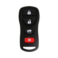 3+1 Button Remote Key for Nissan 315Mhz FCC ID KBRASTU15