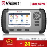 VIDENT iAuto 702Pro Multi-applications Service Tool Français Version 3 Ans de Mise à Jour en Ligne