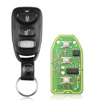XHORSE XKHY01EN Universal Remote Key Fob 4 Button for Hyundai Used with VVDI Key Tool English Version 5 pcs/lot