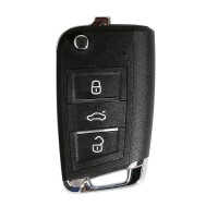 XHORSE XKMQB1EN for VW Remote Key MQB Style 3 Buttons for VVDI Key Tool 5pcs/lot