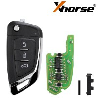 XHORSE XKKF03EN Universal Remote Key Fob Knife Style for VVDI Key Tool 5pcs/lot