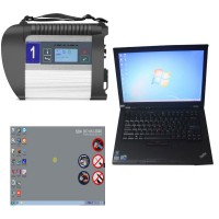 V3/ 2021 MB SD C4 Star Diagnosis avec XENTRY SSD plus D'occasion Lenovo T410 Ordinateur Portable