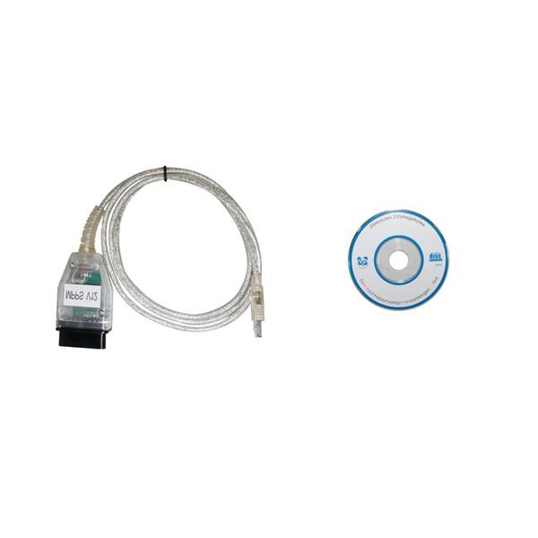 SMPS MPPS V13 02 Chiptuning ECU Remap K+CAN Flasher Cable livraison