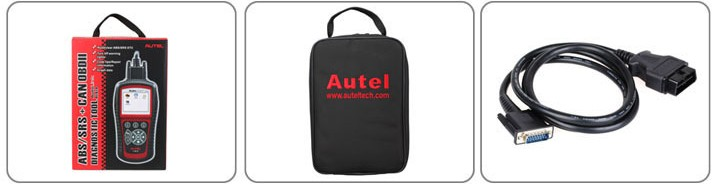 Original Autel AutoLink AL619 OBDII CAN ABS and SRS Scan Tool