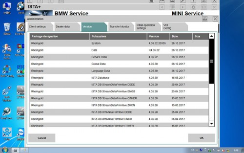 WIFI BMW ICOM Next Outil de Diagnostic Professionnel Version du Système4.05.32.20335 Diagnostique 4.05.32